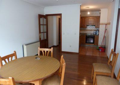 Alquiler piso 2 dormitorios centro de Betanzos