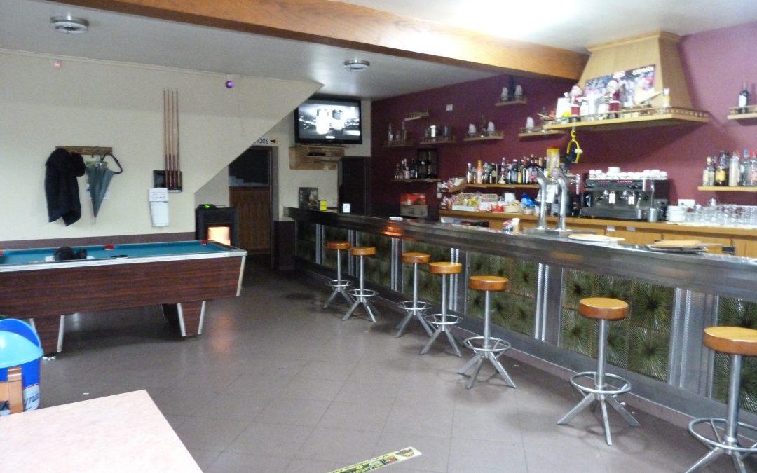 Alquiler café-bar, restaurante y vivienda en Aranga