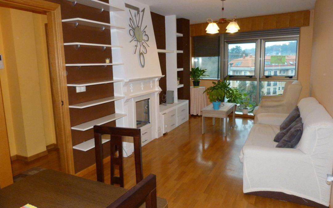 Alquiler piso2 dormitorios y 2 baños en Sada