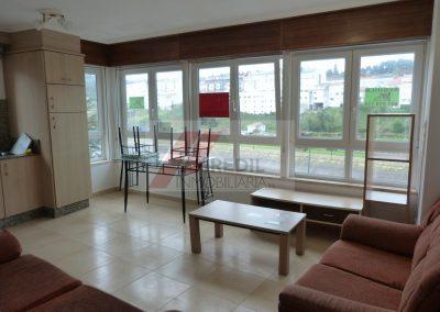 Alquiler piso 2 dormitorios amueblado en Betanzos